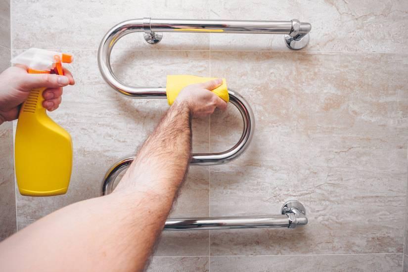 Как заменить полотенцесушитель в ванной своими руками