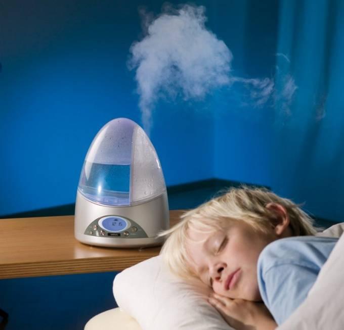 Сколько должен работать увлажнитель воздуха
