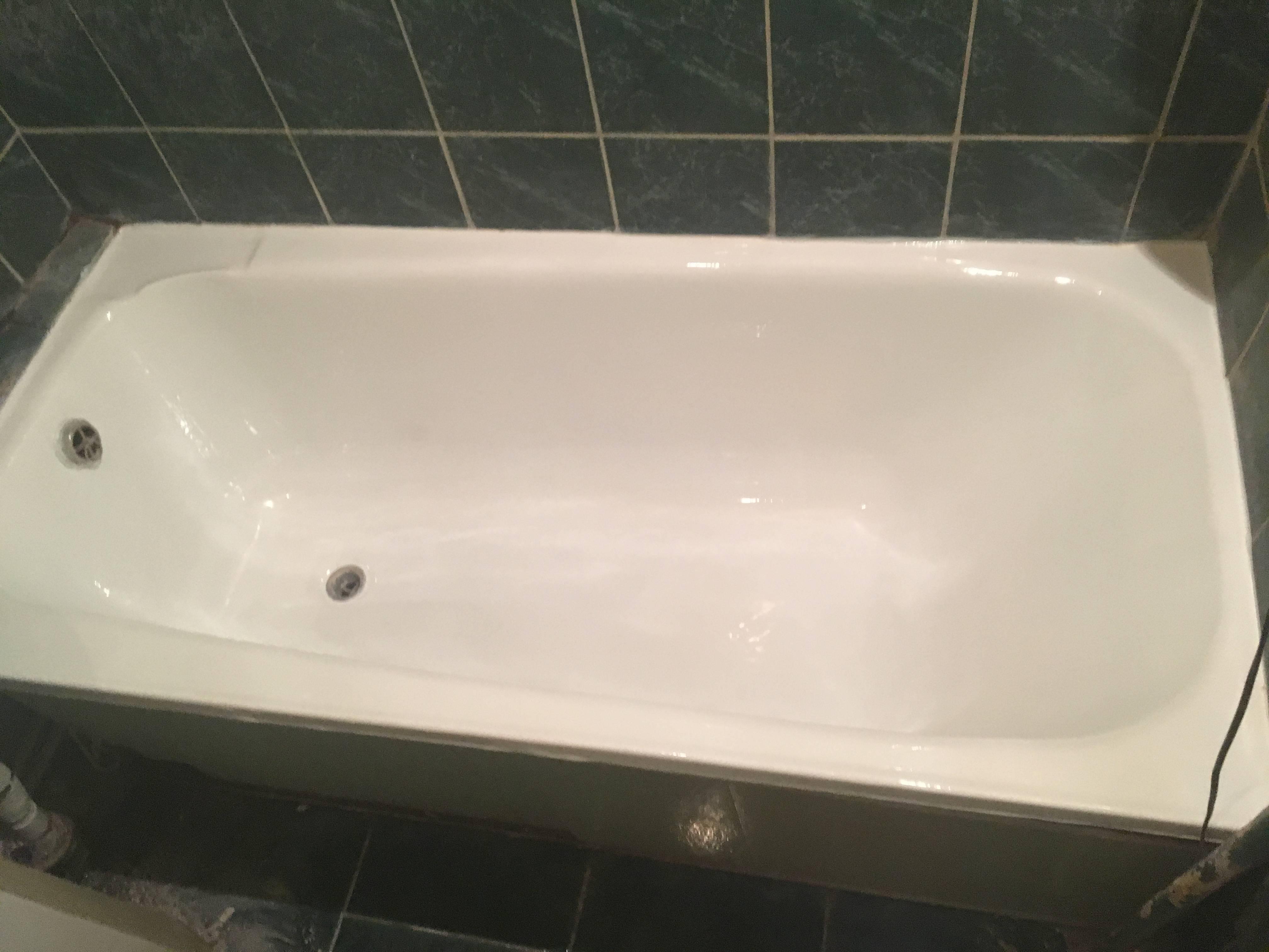 Как выбрать эмаль для реставрации ванн: обзор восстановителей