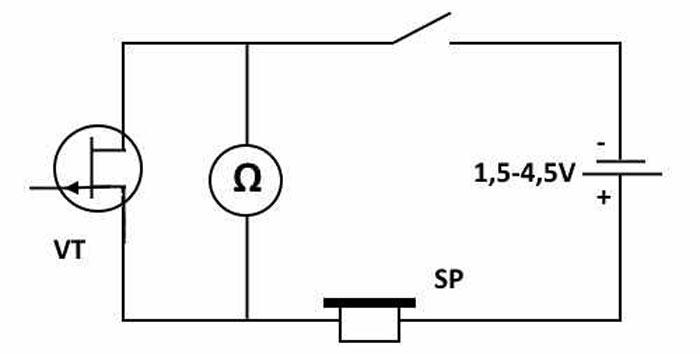 Детектор для обнаружения скрытой электропроводки в стене