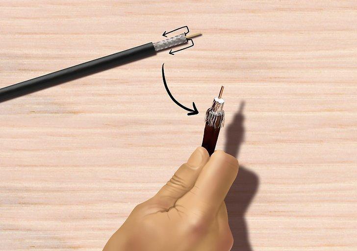 Как подключить штекер для антенны телевизора