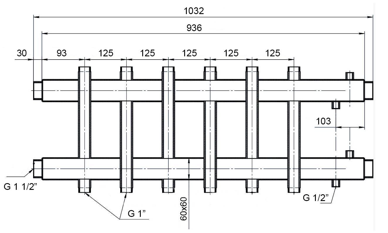 Как сделать коллекторную систему отопления частного дома своими руками: схема и описание монтажа