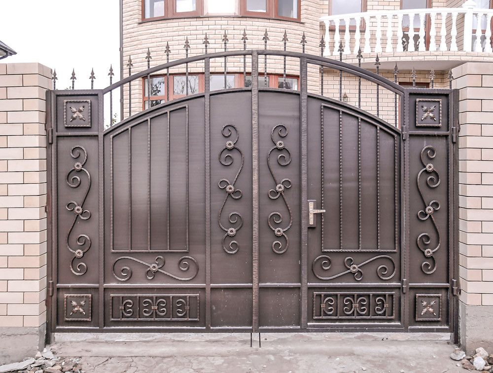 Как сделать ворота своими руками: выбор материала, фото