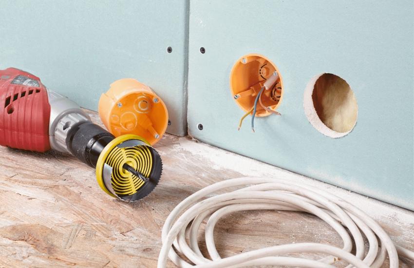 Установка розеток в гипсокартон | советы и рекомендации от специалистов