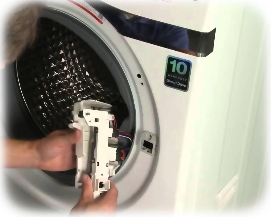 Как открыть дверь стиральной машины hotpoint-ariston?