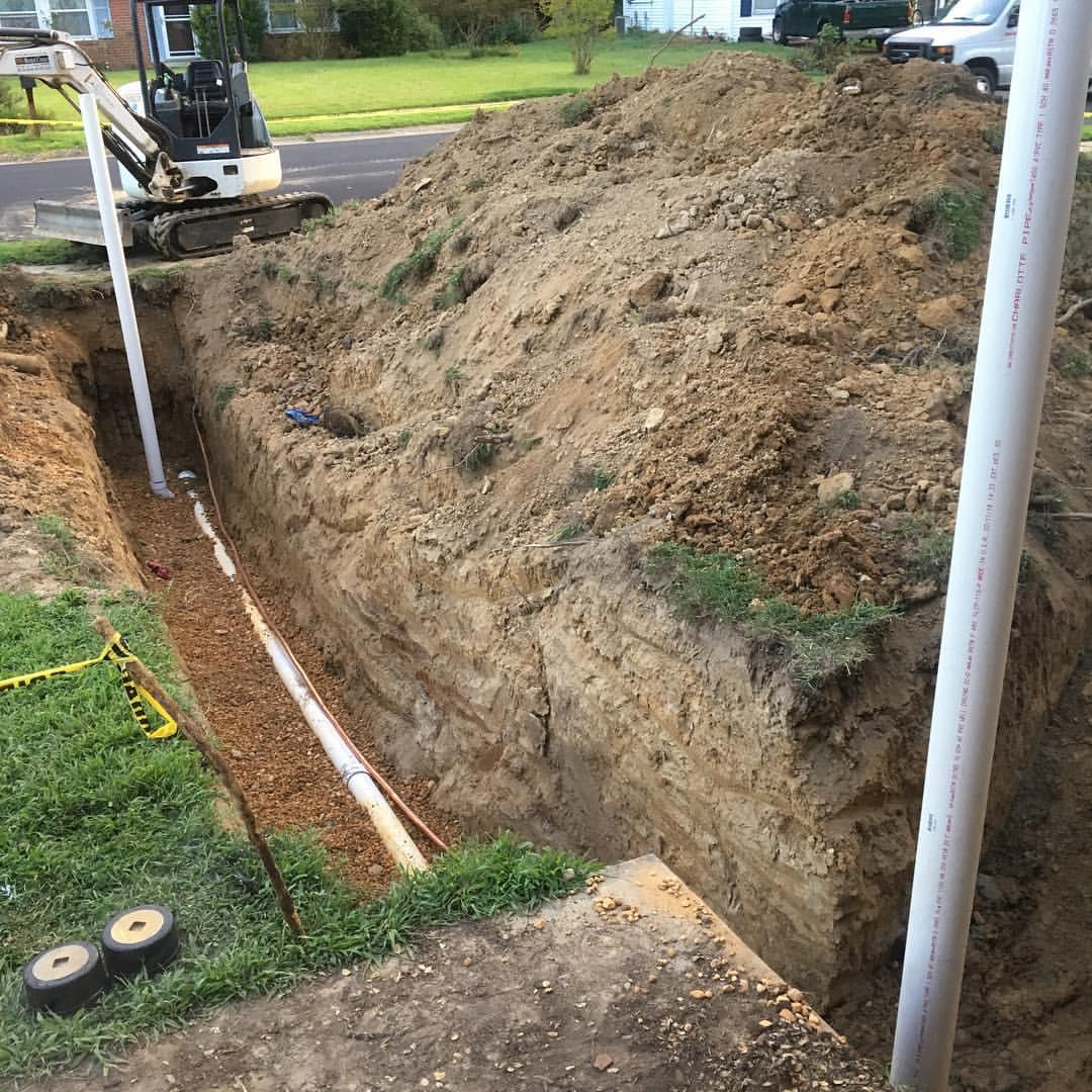 Особенности прокладки водопровода под землей