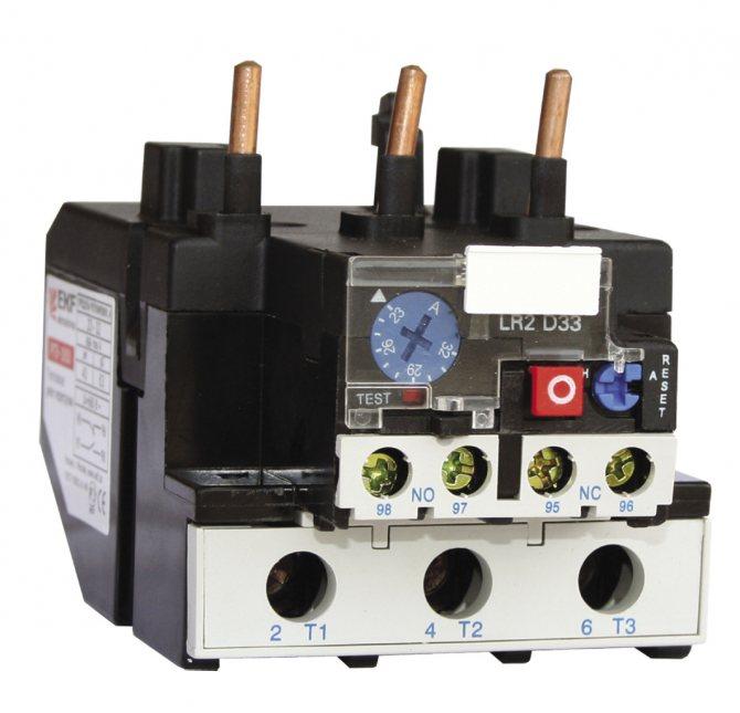 Как подобрать тепловое реле для электродвигателя 380в - советы электрика - electro genius
