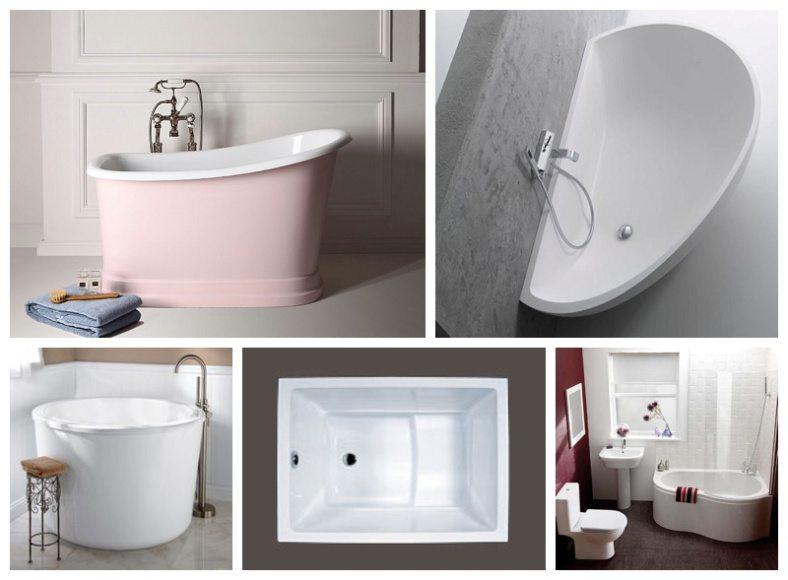Маленькие ванны: размеры мини-ванн. советы по выбору небольшой ванны, примеры компактных ванн в интерьере