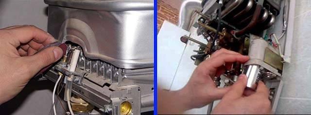 Чистка газовой колонки bosch своими руками. инструкция по чистке газовой колонки