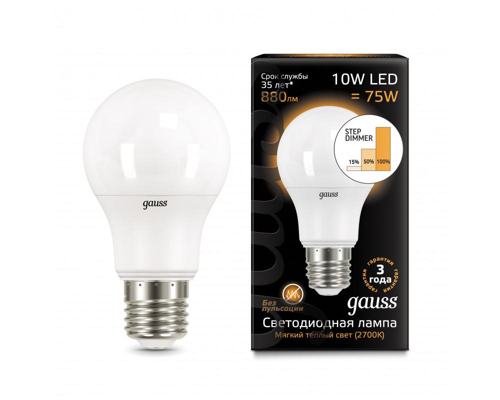 Светодиодные лампы gauss (49 фото): выбираем led-модели с димером для дома, отзывы