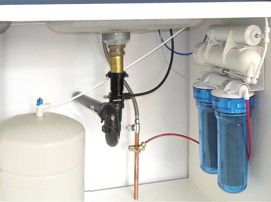 Выбор и установка фильтров для воды под мойку