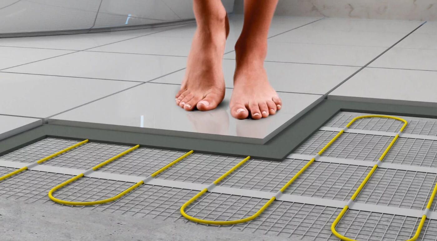 Инфракрасный теплый пол под плитку – как выбрать, какой лучше, нюансы и правила установки