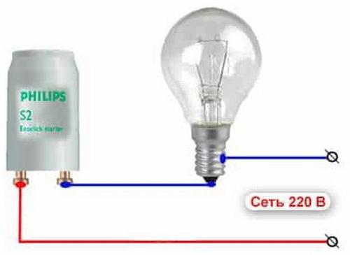 Стартер для люминесцентных ламп: устройство, принцип работы, маркировка + тонкости выбора