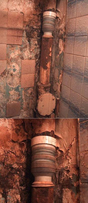 Монтаж чугунных канализационных труб работы своими руками