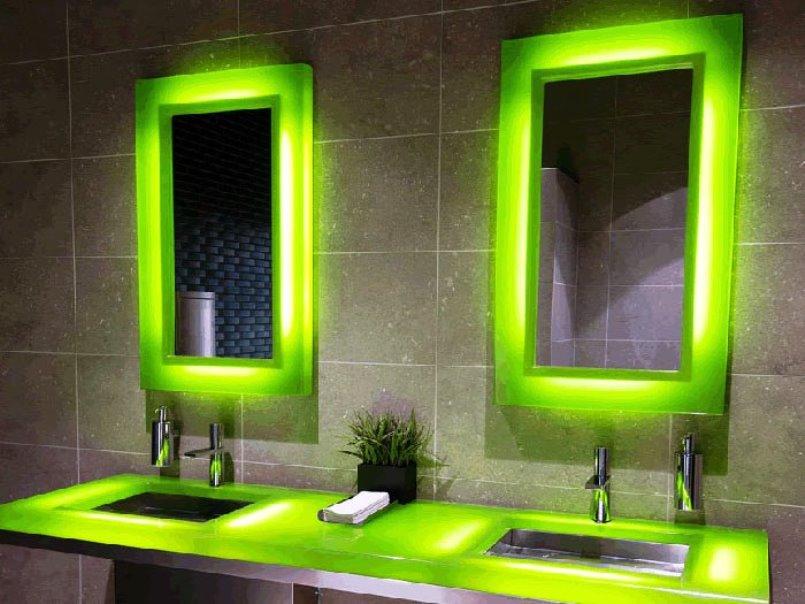 Как сделать подсветку в ванной комнате — как совместить дизайн и безопасность