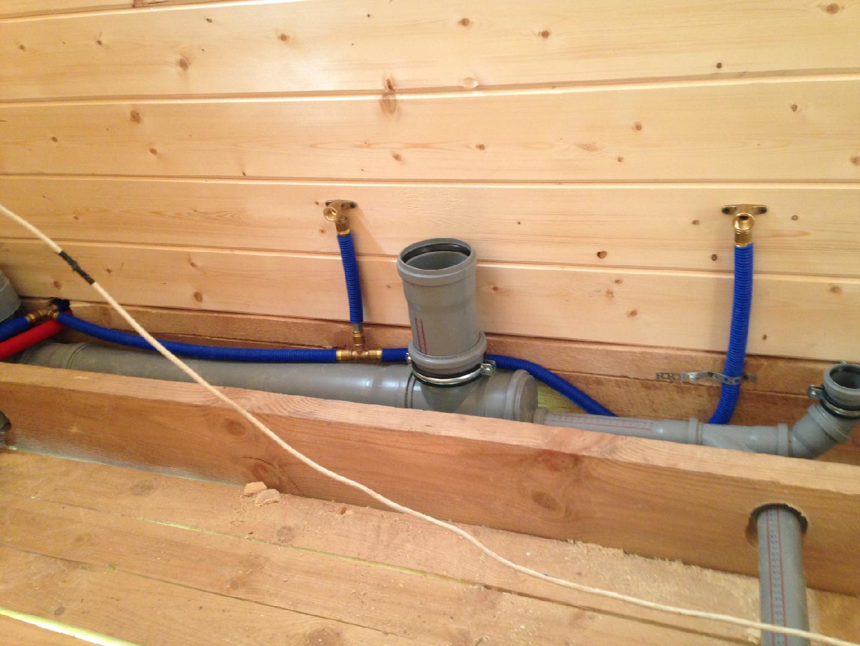 Прокладка коммуникаций в каркасном доме - деревянное строительство - плюсы, минусы, подводные камни