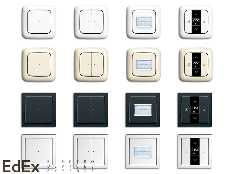 Виды электрических розеток и типы выключателей: варианты - точка j