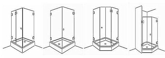 Душевая кабина из плитки: советы по обустройству + разбор технологии монтажа