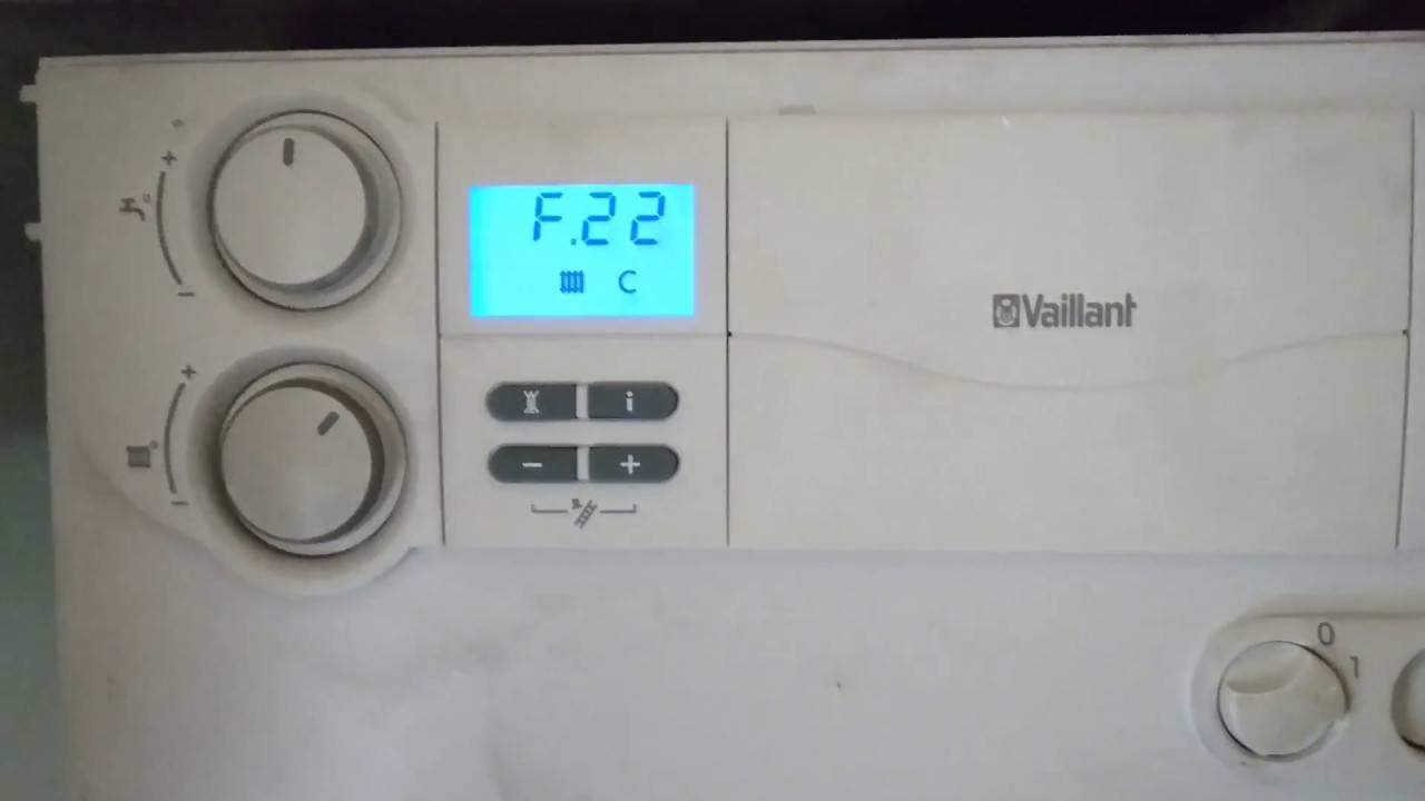 Газовый котел вайлант, неисправности и способы их устранения