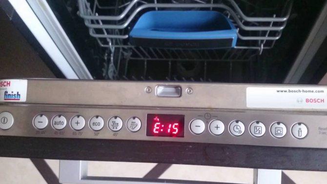 Диагностика посудомоечной машины - electrolux, bosch и др