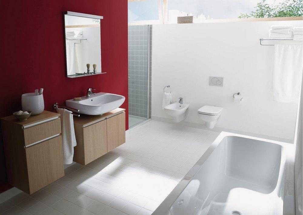Выбор раковины соответствующей дизайну ванной комнаты