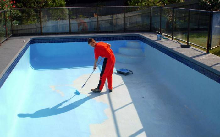 Гидроизоляция бассейна под плитку