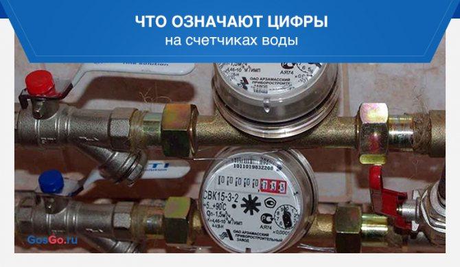 Как снять показания счетчика воды: подробное руководство по считыванию и передаче показаний расходомера