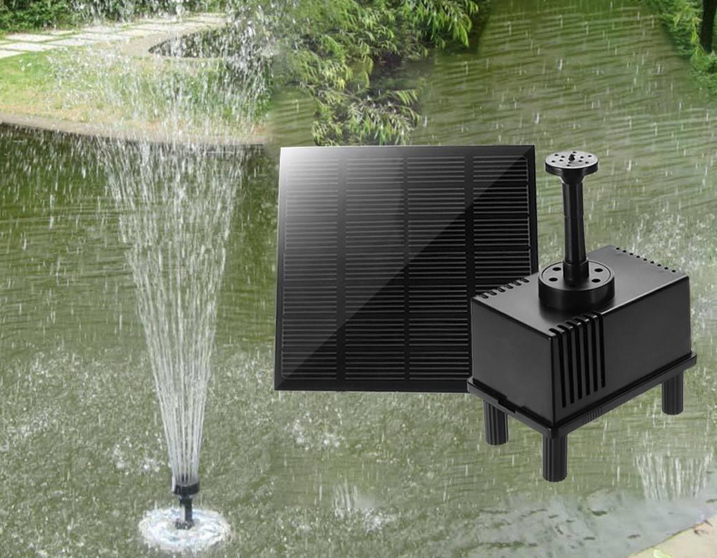 Насосы для фонтана своими руками - все о канализации