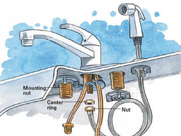 Узнайте как установить смеситель на раковину: советы сантехника