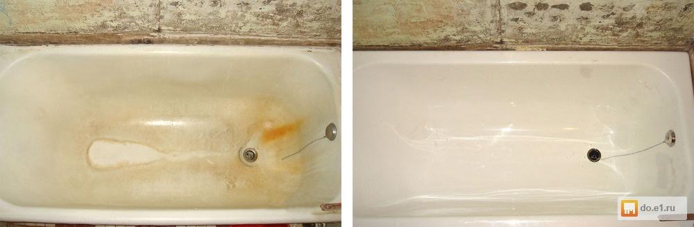 Что лучше — акриловый вкладыш, наливная ванная или покраска