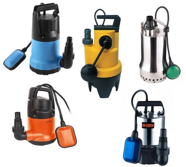 Дренажный насос для грязной воды - для чего нужен и как выбрать погружной