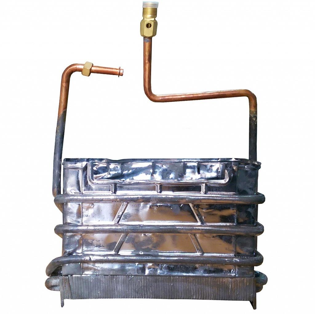 Теплообменник для газовой колонки - как почистить и промыть, ремонт