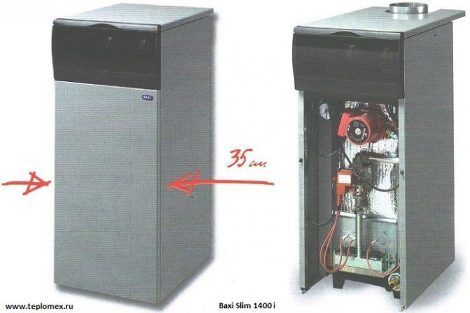 Газовые напольные одноконтурные котлы: виды и технические характеристики