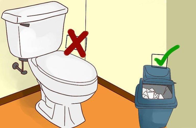 Можно ли бросать в септик туалетную бумагу или этого нельзя делать?