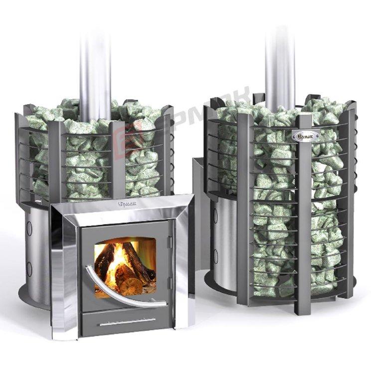 Прогреет в считанные минуты и сохранит тепло надолго: печь для бани «ермак 12»