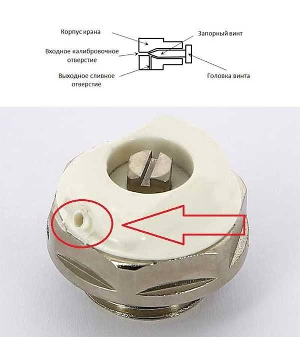 Клапан маевского – сервисный элемент системы отопления