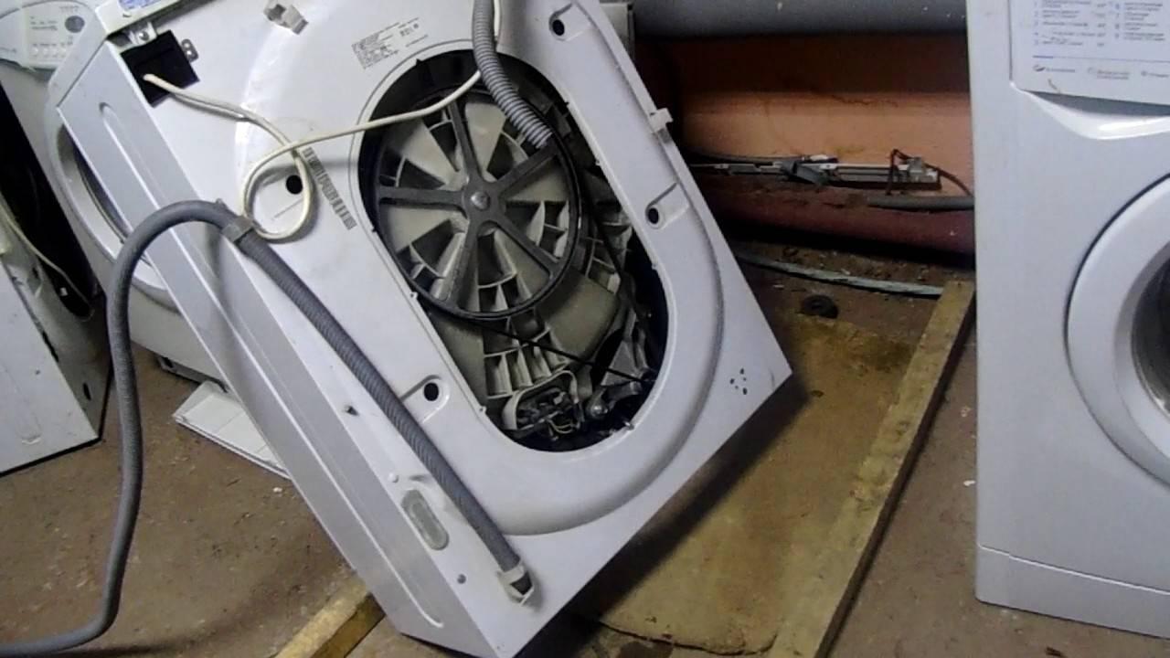 Не крутится барабан стиральной машины: причины и что делать, если машинку заклинило