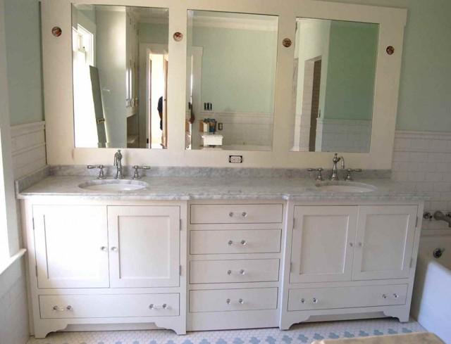 50 самых необычных тумб под раковину для ванной комнаты