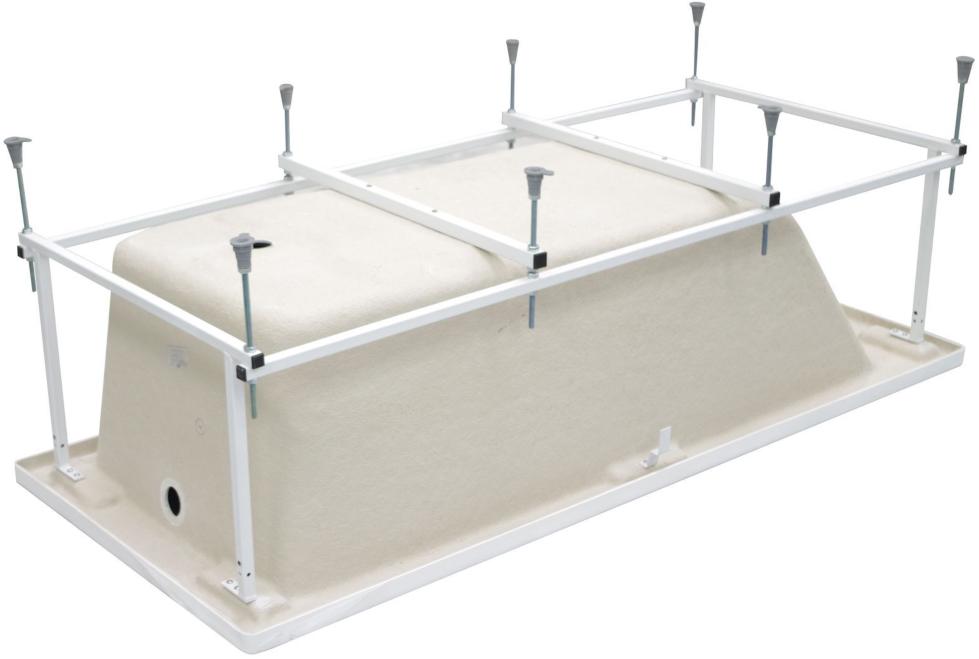 Каркас для стальной ванны своими руками — установка и монтаж (видео, фото)