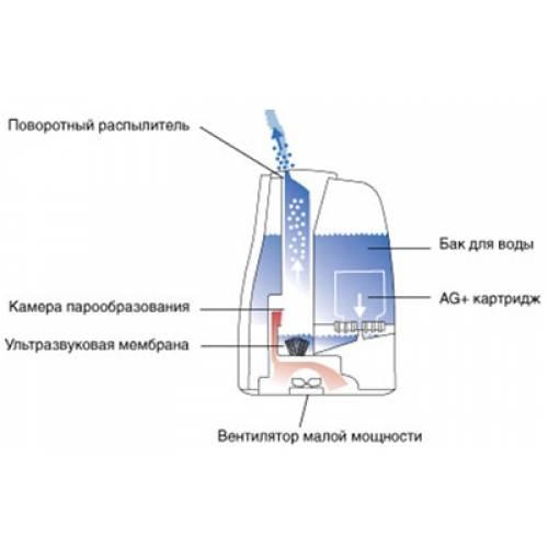 Чем хорош увлажнитель воздуха с ионизатором