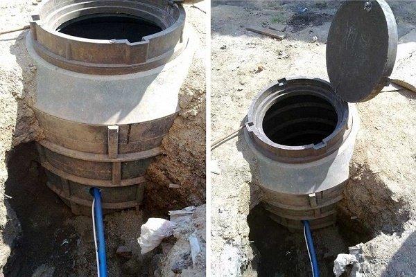 Полимерпесок: колодцы для канализации