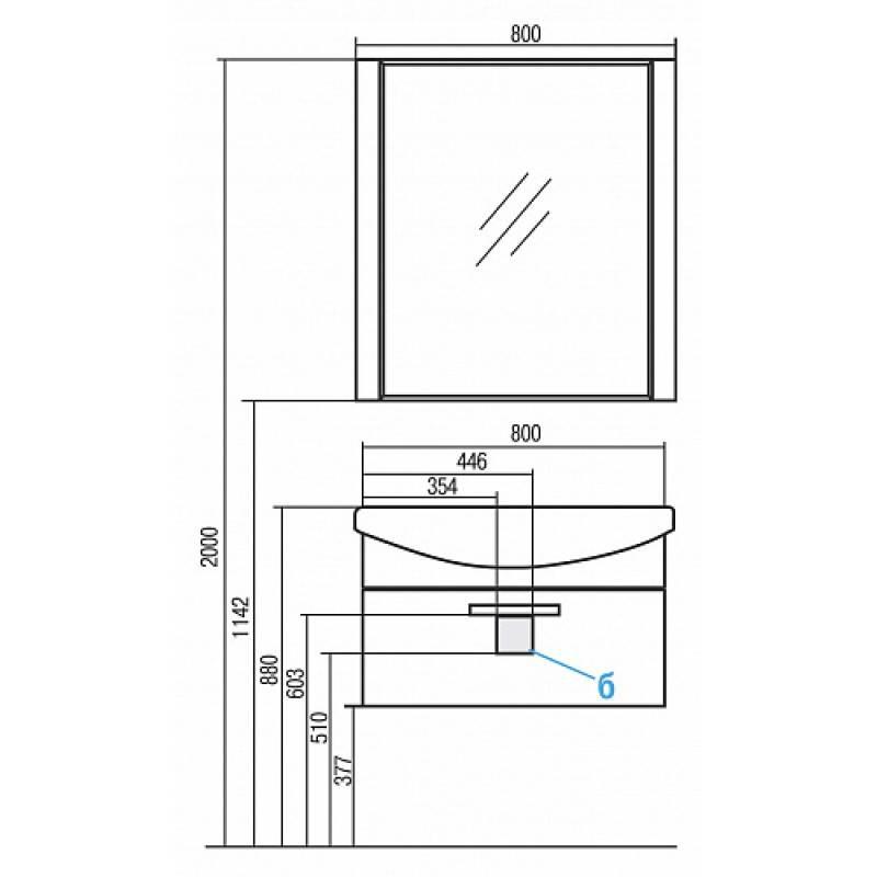 Советы по выбору и монтажу подвесной тумбы с раковиной - точка j
