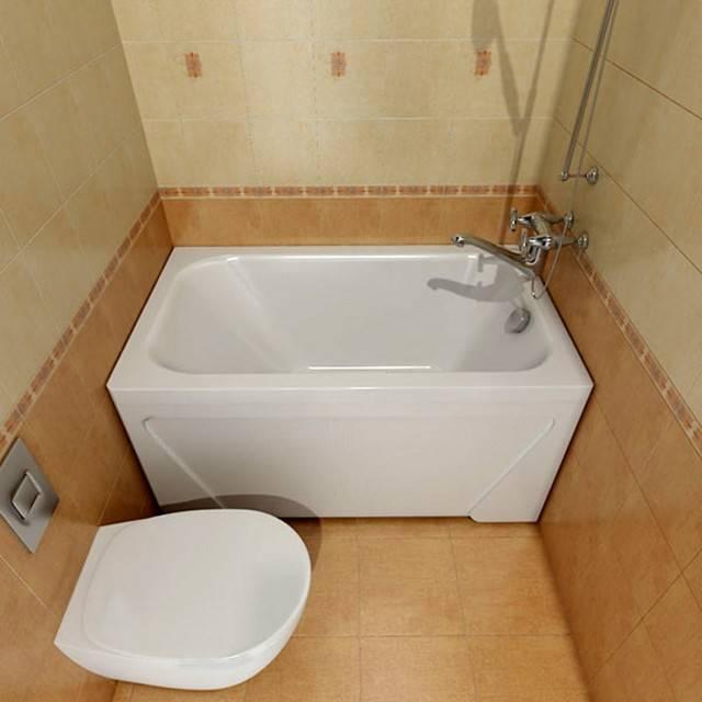 Маленькая ванна: самая крохотная асимметричная конструкция, квадратное изделие с душевой, вариант с душем размером 90х70, круглое глубокое джакузи