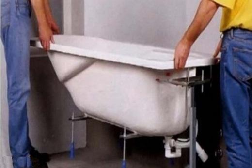 Установка ванной - 90 фото современных моделей и основные ошибки при монтаже