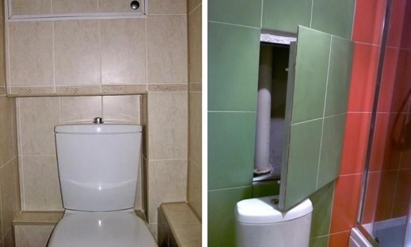 Как спрятать трубы в ванной: обзор лучших способов маскировки трубопровода