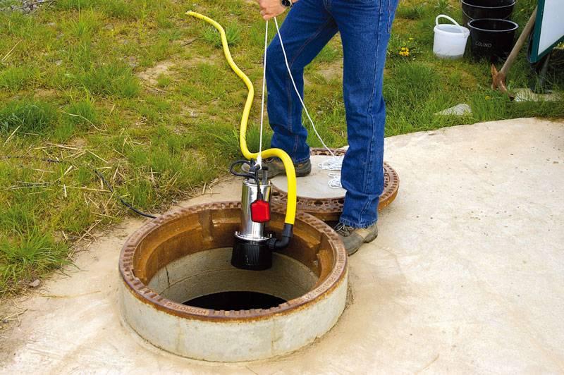 Как выбрать погружной насос для подачи воды в дом из колодца