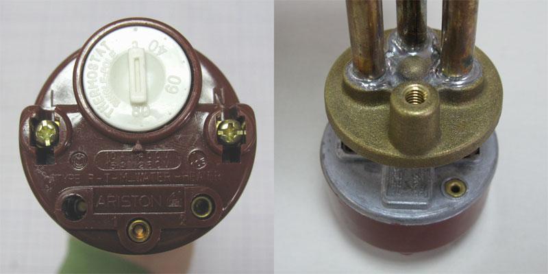 Тэны с терморегулятором для нагрева воды