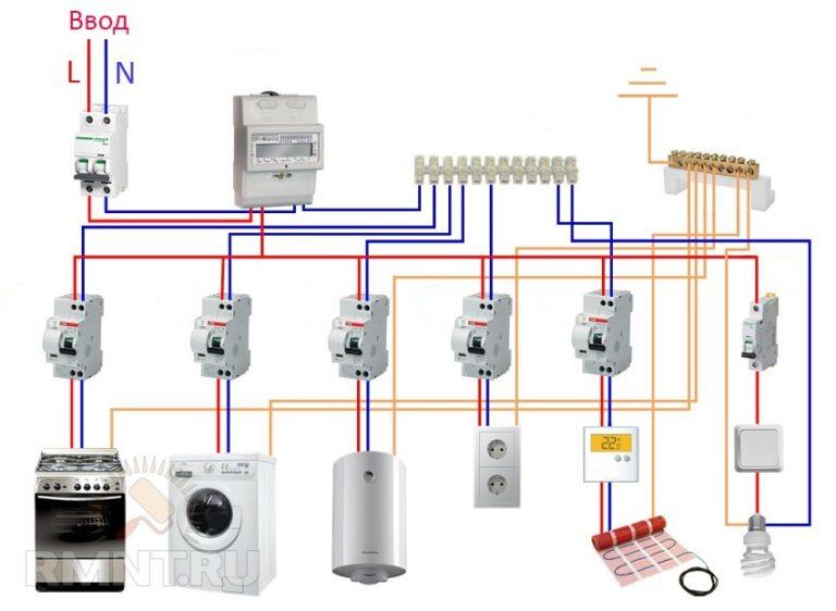 Установка и подключение узо: правила и схема включения, видео о том, как правильно подключить своими руками в частном доме или квартире