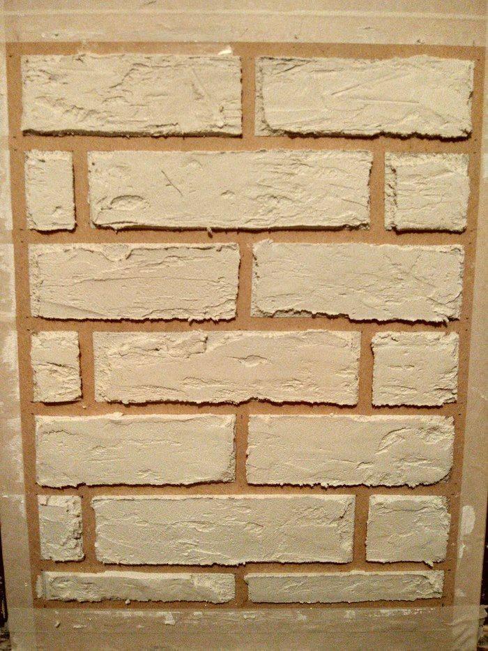 Имитация кирпича штукатуркой: отделываем стены под кирпич своими руками