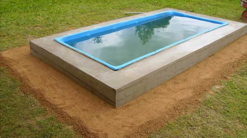 Как сделать бассейн на дачном участке своими руками